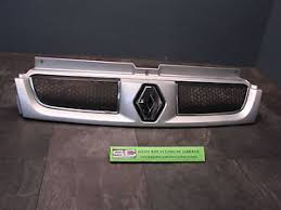 renault trafic 2001 2006 top grill silver paint code cmg64