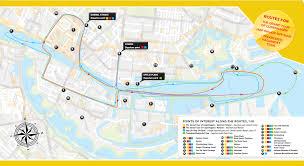 Copenhagen Map Havnerundfart And Kanalrundfart Boat Sightseeing Copenhagen