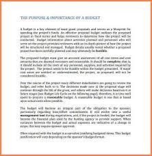 7 budget proposal examples budget proposal