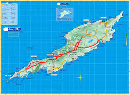 Physical Map Of North America by Maps Of Anguilla Map Library Maps Of The World