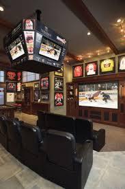 121 best sports man caves images on pinterest basement bars