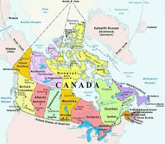 Quebec Canada Map Langley Canada Map Canada Map