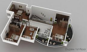 good 2 story mobile home floor plans 6 3d duplex 1st floor side