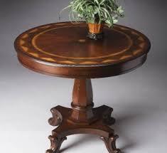 Foyer Entry Tables Classic Round Table For Foyer Room Modeling Foyer Design Design