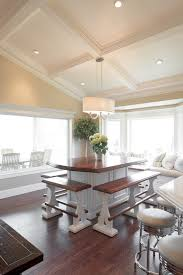 Ceiling Design For Dining Room Dining Room Traditional With - Dining room island tables