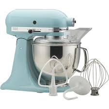 Kitchen Aid Standing Mixer by Kitchenaid Artisan Aqua Sky Stand Mixer In Mixers Crate And
