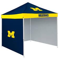 9x9 Canopy by Michigan Wolverines Ncaa 9 U0027 X 9 U0027 Economy 2 Logo Pop Up Canopy