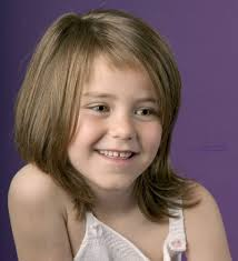 Medium Hairstyle For Girls by Image For Little Medium Length Haircuts With Bangs Girls
