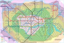 underground map zones map of the day s with distance second ave sagas