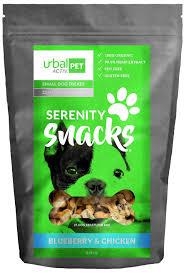 serenity hemp dog biscuits blueberry chicken small 25mg urbal activ