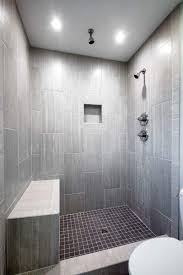 Beautiful Showers Bathroom Leonia Silver Tile From Lowes Tiled Shower Bathroom Ideas