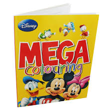 disney mickey mouse mega colouring book disney children u0027s