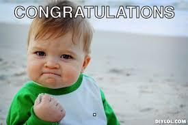 Meme Generator Happy - 4 46 464aecb6 success meme generator congratulations c39ac2 png my