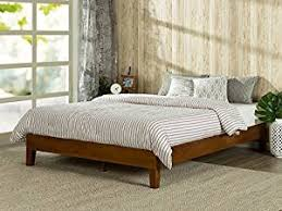 Wood Bed Platform Zinus 12 Inch Deluxe Wood Platform Bed No Boxspring