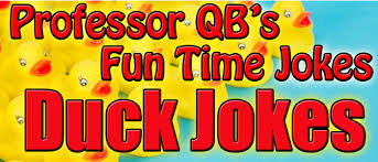 photos and professor qb duck jokes featured in professor qb s time jokes time jokes