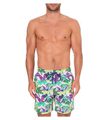 light pink shorts mens mens swimwear on sale vilebrequin moorea forest print swim