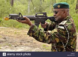 a kenyan soldier equipped with deployable instrumentation system