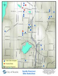 City Of Seattle Zoning Map by Site Acquisition New North Precinct Station Seattle Gov