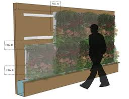 Urban Wall Garden - attractive vertical garden maintenance create an interior vertical