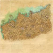 Treasure Map 3 Skyrim Tes Online Map Of Alik U0027r Desert