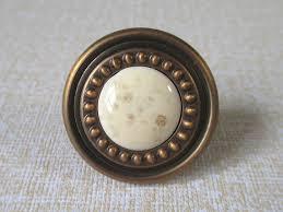 vintage kitchen cabinet knobs dresser drawer knobs pulls handles antique brass white