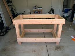 rolling work table plans rolling garage workbench plans making a fine design workbenches