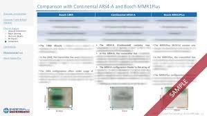 bosch siege social bosch lrr4 77ghz range radar sensor 2017 teardown costin