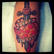 31 appetizingly awesome pizza tattoos