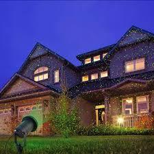 laser landscape lighting star projector outdoor lawn lamp ip65