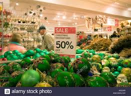 50 sale sign for baubles in harrods stock photo 13020658