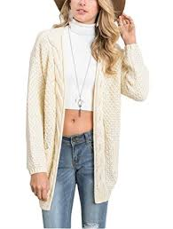 cardigan sweaters aegean auras womens cable knit open front cardigan sweaters with