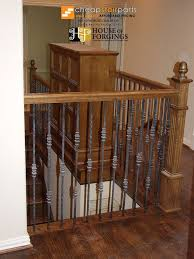 48 best tuscan square hammered iron baluster stair patterns images