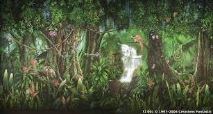 jungle backdrop backdrop tj001 tropical jungle 1
