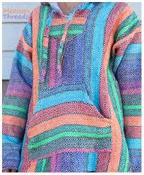 baja hoodie mexican ponchos