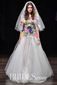 color wedding dresses 61 colored wedding dresses from bridal fashion week brides