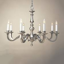 Williamsburg Home Decor Shop Jvi Designs 8 Light Williamsburg Pewter Chandelier At Lowes Com