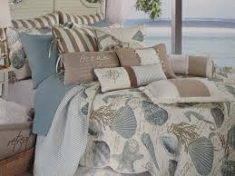 Coastal Bedding Sets Seashell Quilt Set Coastal Bedding Ideas Inspired Themed
