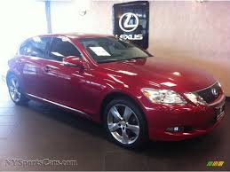 lexus matador red 2008 lexus gs 350 awd in matador red mica 017555 nysportscars