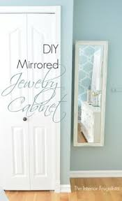 Wall Mirror Jewelry Storage Closet Jewelry Cabinet I Can Imagine This With A Full Length