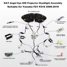aliexpress com buy kt headlight for yamaha fz1 fz1s 2006 2015