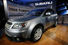 subaru baja 2016 subaru plans bigger 3 row crossover to replace tribeca