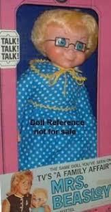 mrs beasley s mattel s talking mrs beasley doll as seen on the late 1960 s