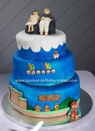 coolest mario brothers wedding cake