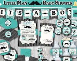 mustache baby shower decorations mustache baby shower etsy
