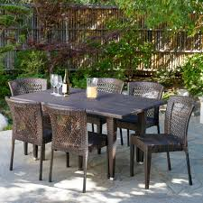 beachcrest home vinalhaven 7 piece dining set u0026 reviews wayfair