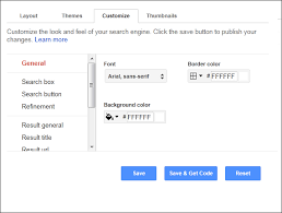embedding a search bar in adobe muse google custom search