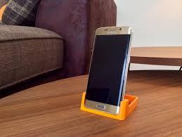 Samsung Desk Samsung Galaxy S6 Edge Desk Stand By Gmzoltan Thingiverse