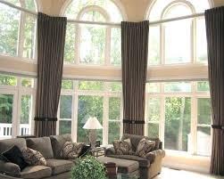 living room window treatments for large windows home curtains for large windows wearelegaci com