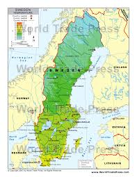 map of sweden stockmapagency maps of sweden offered in poster print by jpg