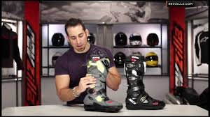 sidi motocross boots sidi crossfire 2 boots review at revzilla com youtube
